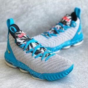 Nike Lebron 16 GS South Beach flyknit
